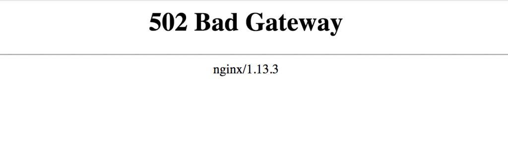 nginx使用yum安装后访问php提示502 Bad Gateway错误!
