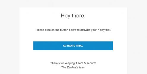 Chrome浏览器一款免费7天的VPN扩展ZenMate Free VPN