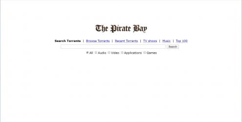 The Pirate Bay 海盗湾BT下载