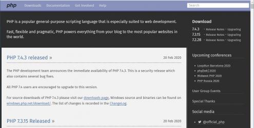 PHP 编程语言