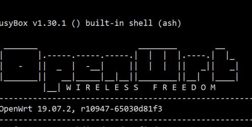 GL-AR150路由器刷openwrt19.07.7系统