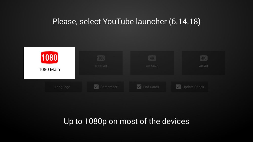 YouTubeTV客户端