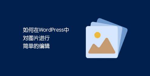 WordPress裁剪工具变灰?使用WordPress自带工具裁剪图片