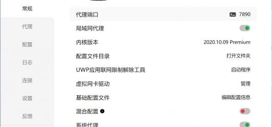 Clash for Windows 中文汉化使用简介