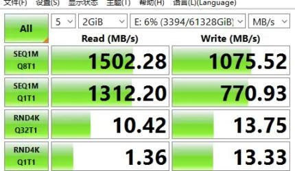SSD硬盘测试工具CrystalDiskMark8详解