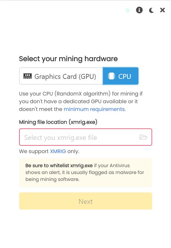UnMineable Miner挖矿软件